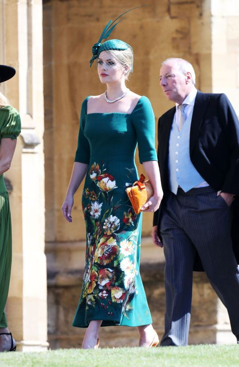 kitty spencer princess diana 39 s niece stuns in dolce gabbana royal wedding dress. Black Bedroom Furniture Sets. Home Design Ideas