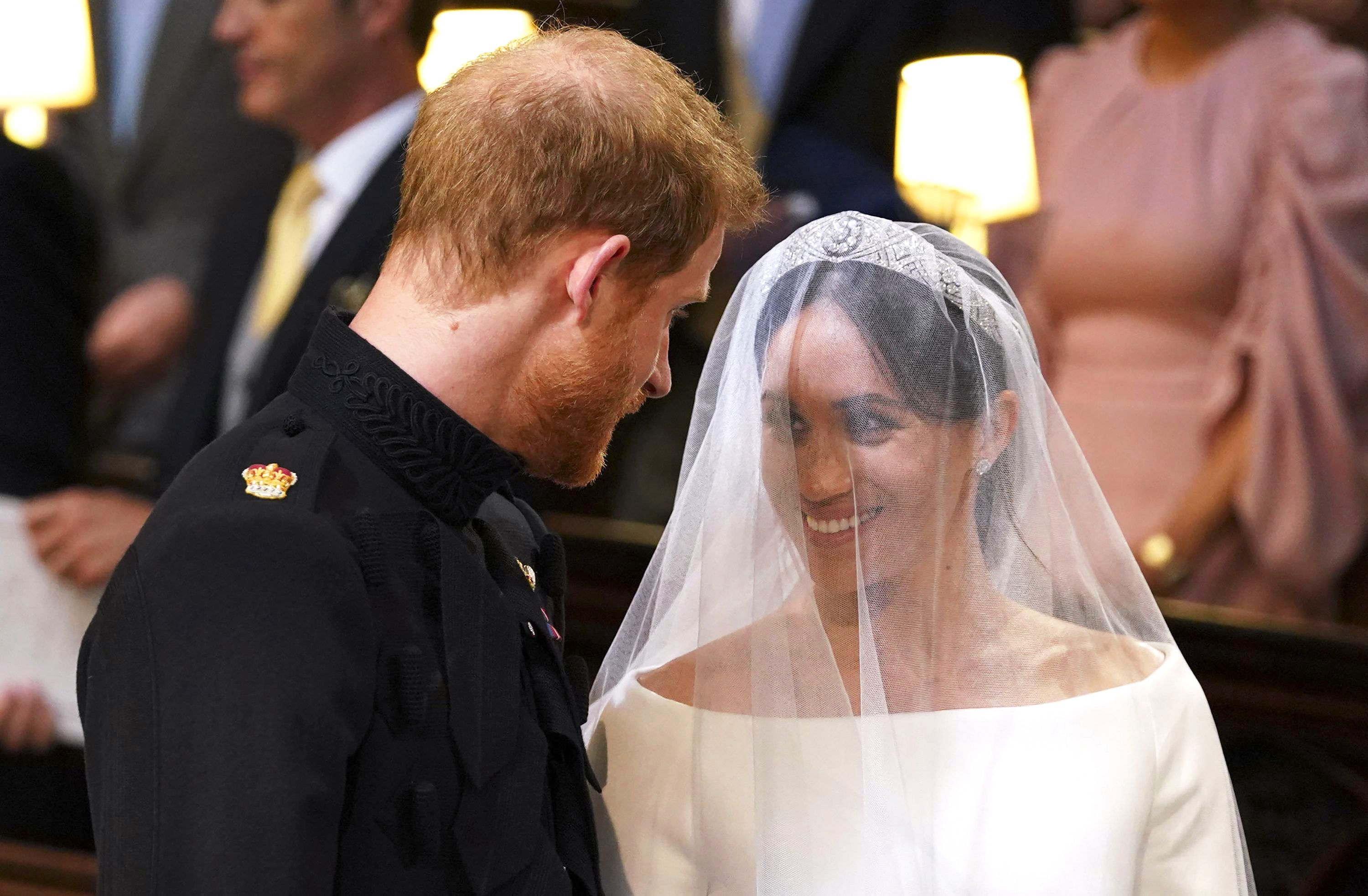 Meghan Markle Helped Prince Harry Put on Her Wedding Ring Meghan