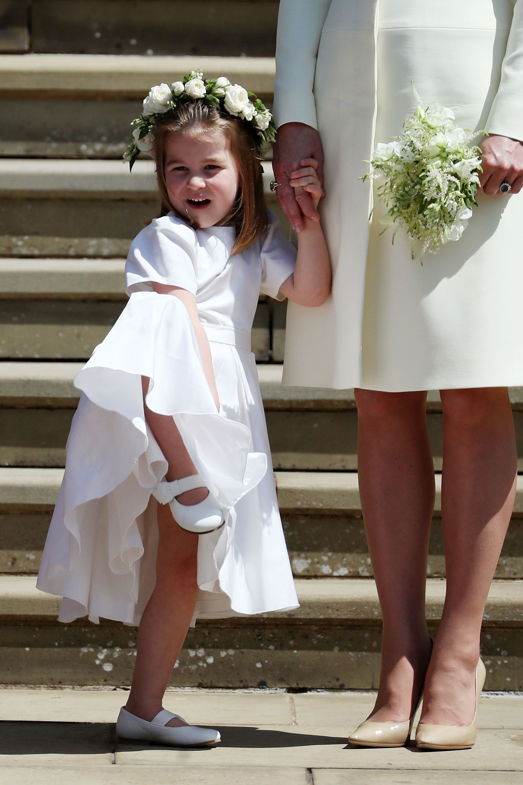royal wedding 2018 princess charlotte shoes