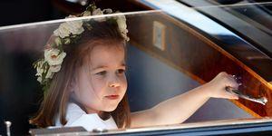 royal wedding 2018 Princess Charlotte