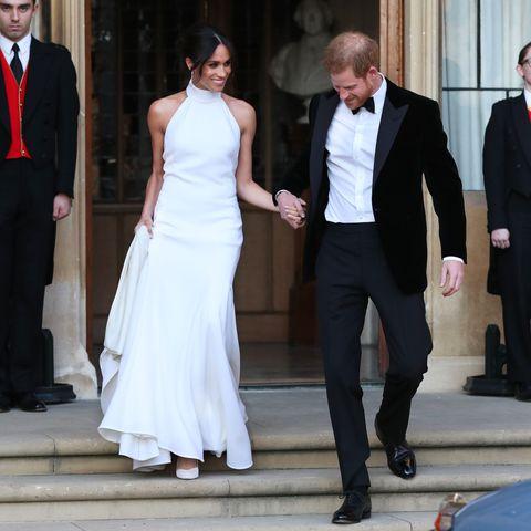 Royal Wedding 2018 prince harry meghan markle reception car
