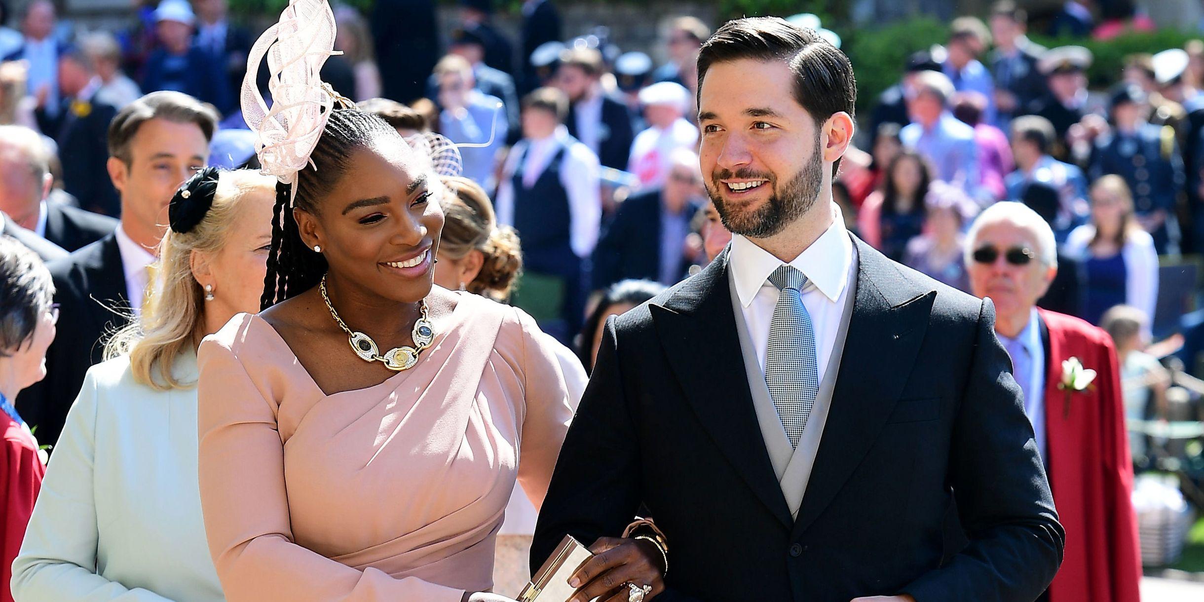 Royal Wedding 2018 Serena Williams Alexis Ohanian