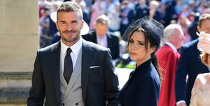 royal wedding 2018 david beckham victoria beckham