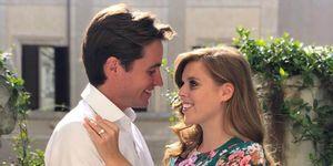 Royal wedding Beatrice Edoardo