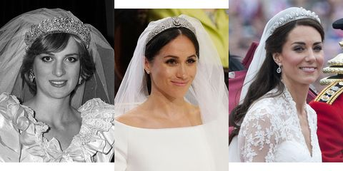 4 Ways Meghan Markle S Wedding Hair And Makeup Is Totally Diffe From Princess Diana Kate