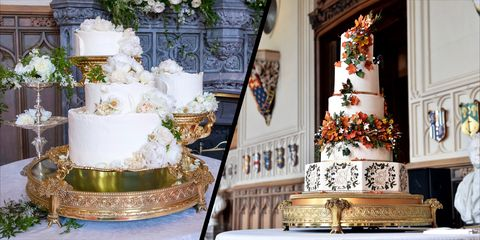 How Princess Eugenies Wedding Cake Compares To Those At Other Royal Weddings