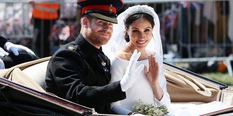 royal wedding Prince harry Meghan Markle carriage