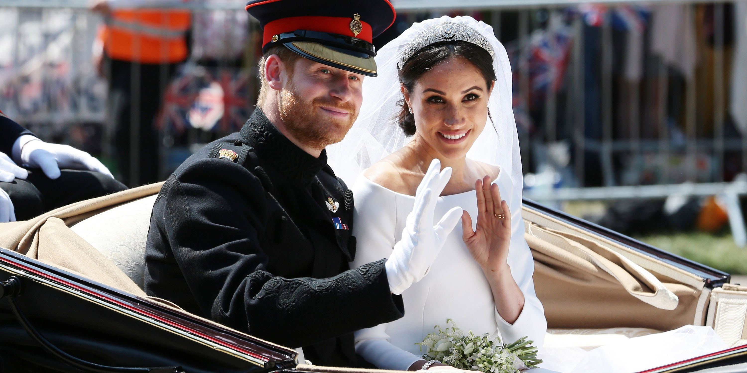 royal wedding Prince harry Meghan Markle carriage