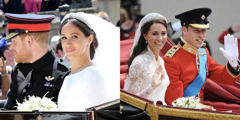 When Is Prince Harry S Wedding.Meghan Markle And Prince Harry S Wedding Procession Compared To Kate