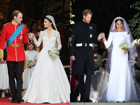 Pictures Of The Royal Wedding.How Meghan Markle And Prince Harry S Royal Wedding Compares To Kate
