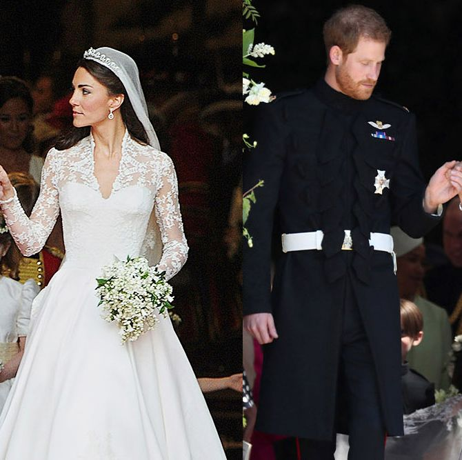 How Meghan Markle and Prince Harry's Wedding Compared to Kate Middleton and Prince William's