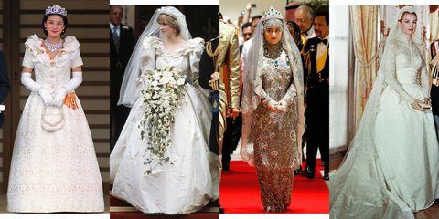 Wedding dress, Dress, Clothing, Gown, Bridal clothing, Bride, Tradition, Fashion, Marriage, Formal wear,