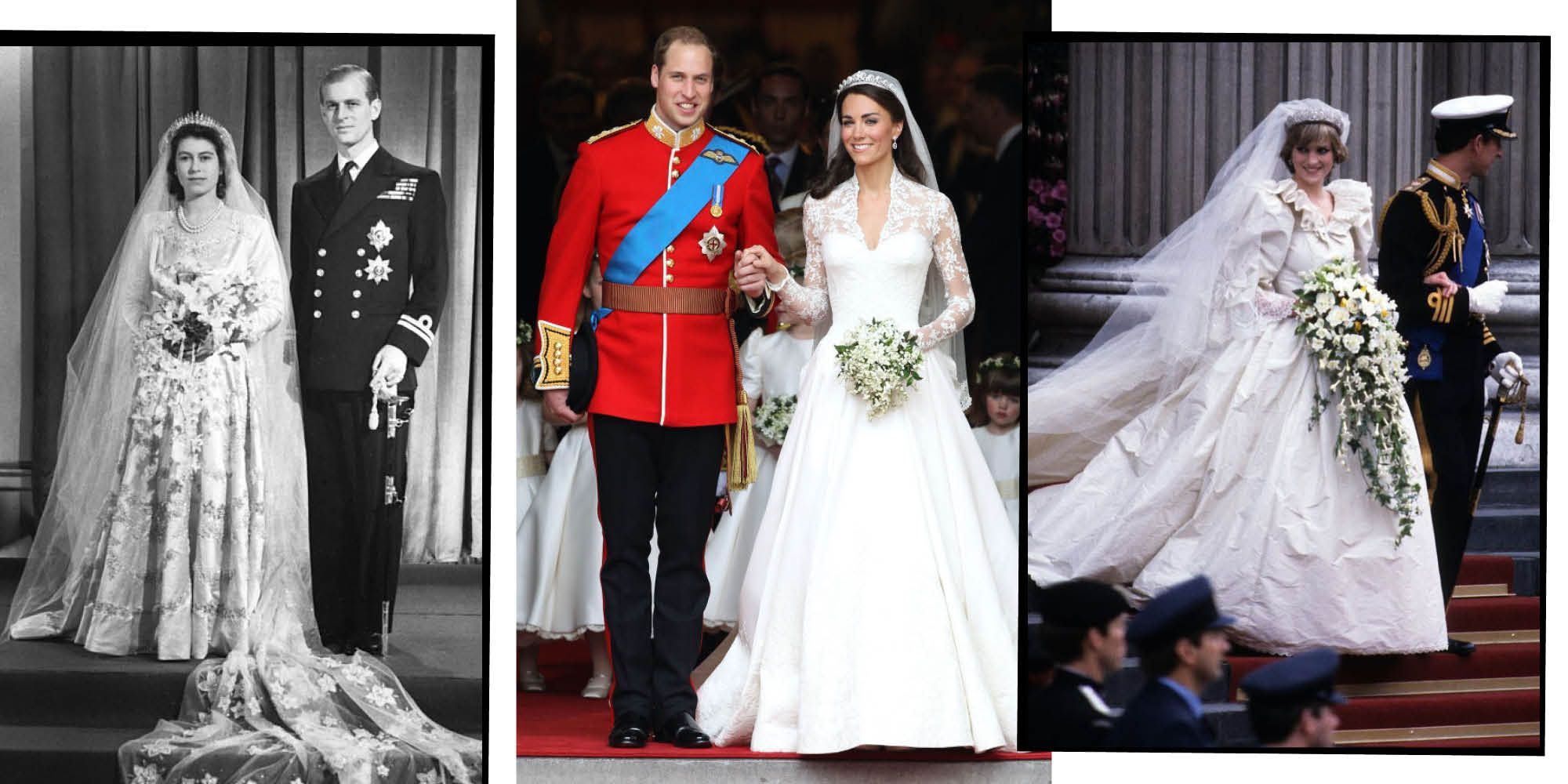 Royal Wedding Dresses: 26 Wedding Dresses From The British Royal Family