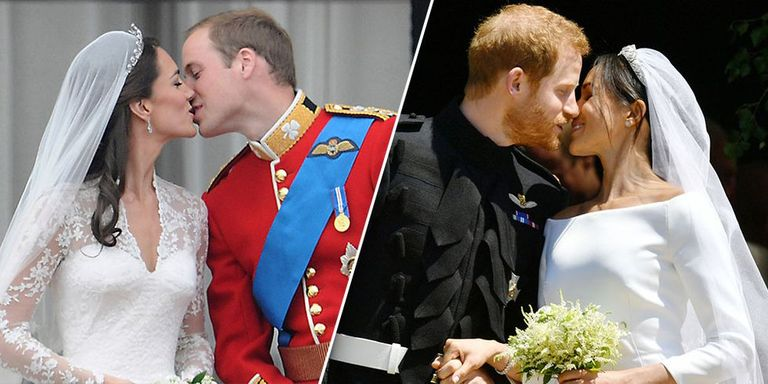 Prince Harry And Meghan Markle Wedding Day Kiss