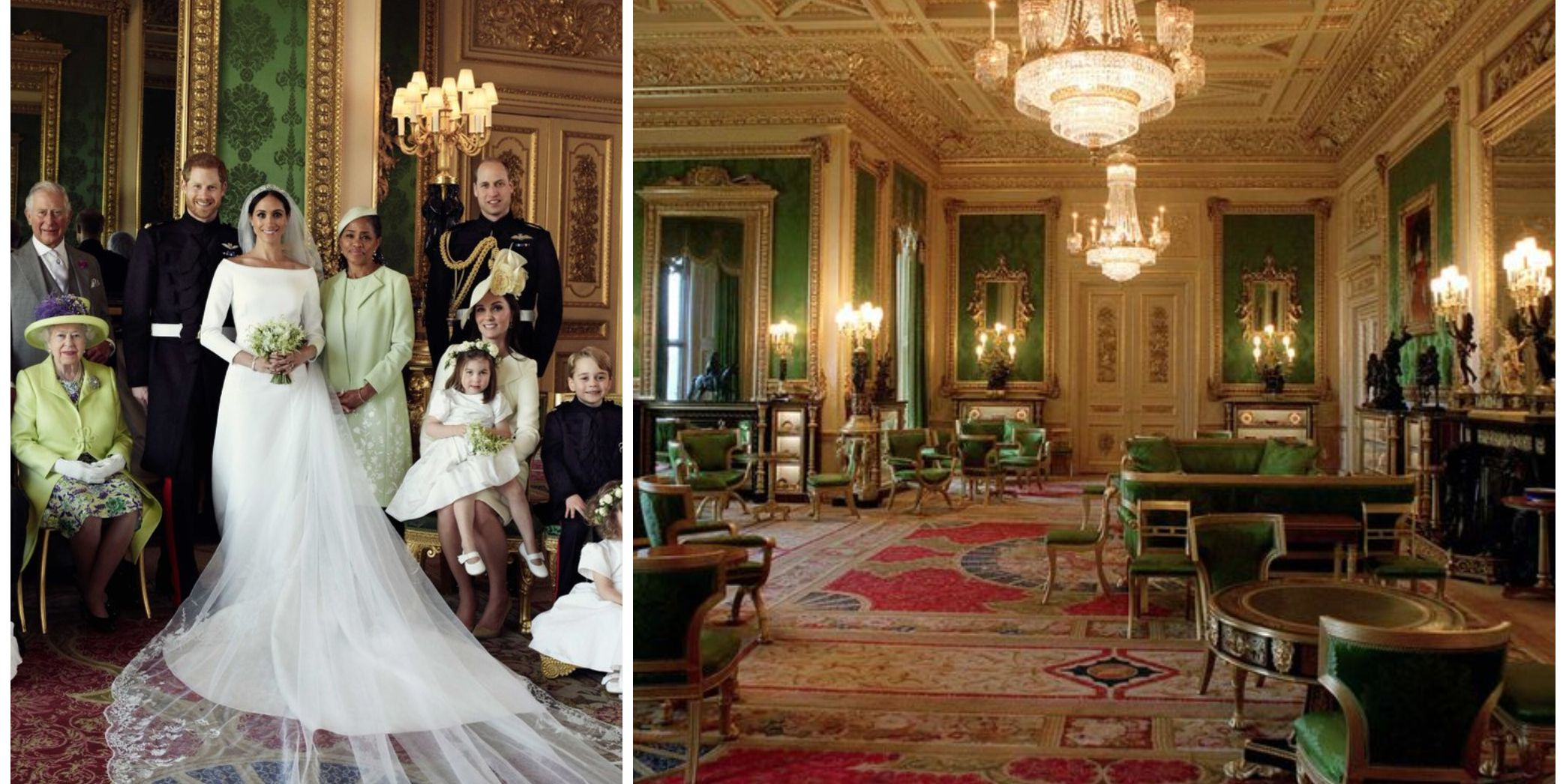 Windsor Castle's Green Drawing Room