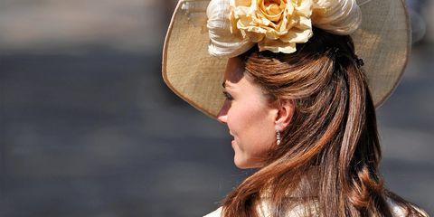 Hair, Headpiece, Hairstyle, Beauty, Fashion accessory, Headgear, Hair accessory, Bridal accessory, Long hair, Hat,
