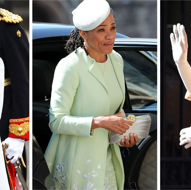 Royal wedding mother of the bride outfits