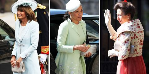 Mothers of royal brides