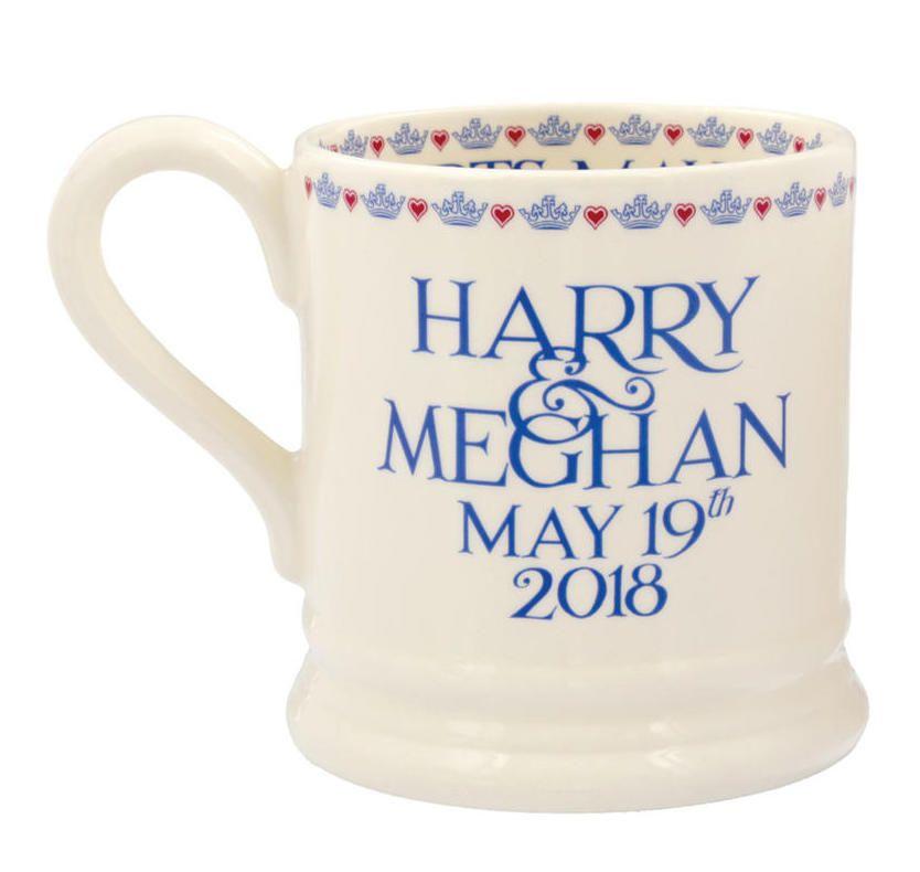 Royal wedding mug, Prince Harry and Meghan Markleby Emma Bridgewater