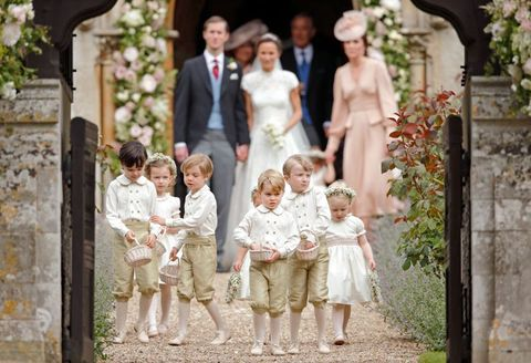 Photograph, People, Child, Wedding dress, Bridal clothing, Ceremony, Event, Dress, Wedding, Photography,