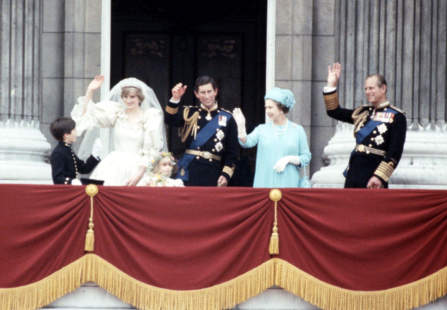 Their Eldest Child's Royal Wedding