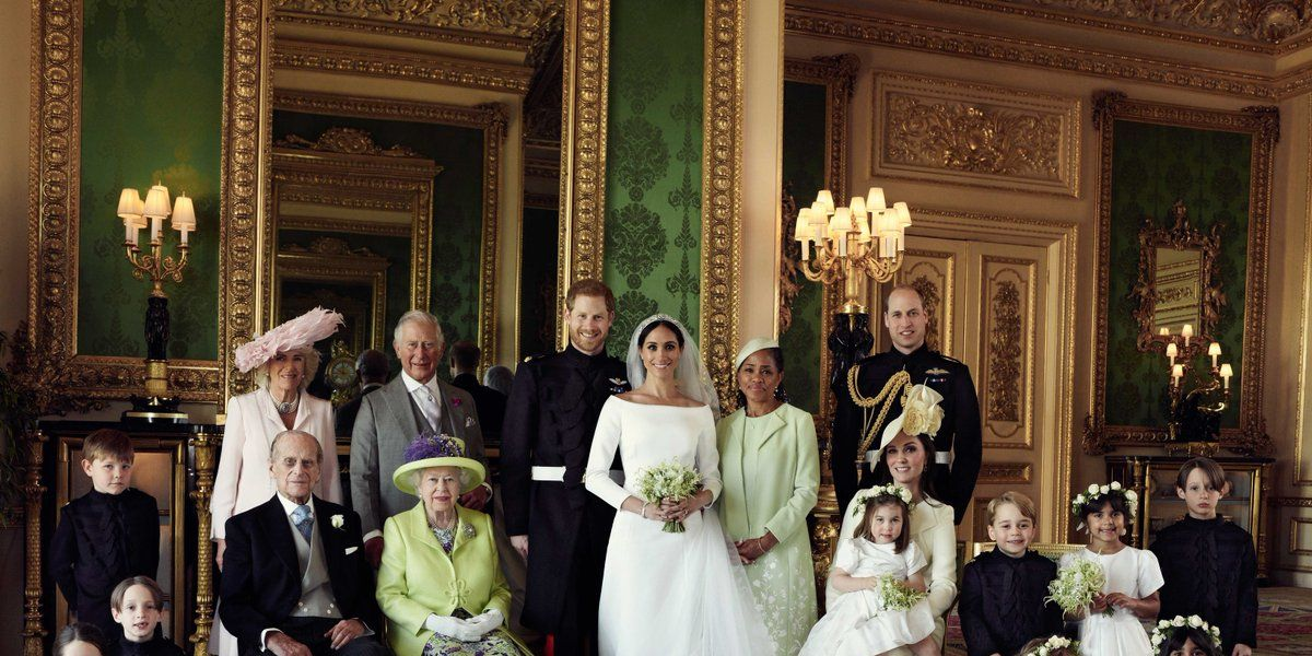 Royal Wedding - Prince Harry and Meghan Markle official wedding photographs