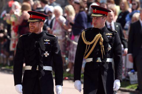 Princes In Frockcoat Uniform