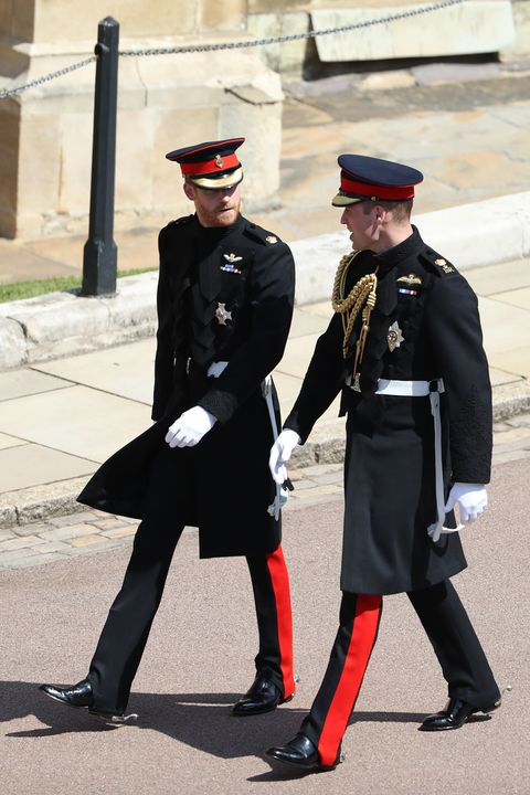 Why Does Prince William Have A Gold Braid On His Uniform