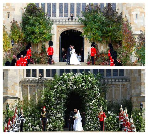 Royal Weddings - Princess Eugenie and Jack Brooksbank and Prince Harry and Meghan Markle