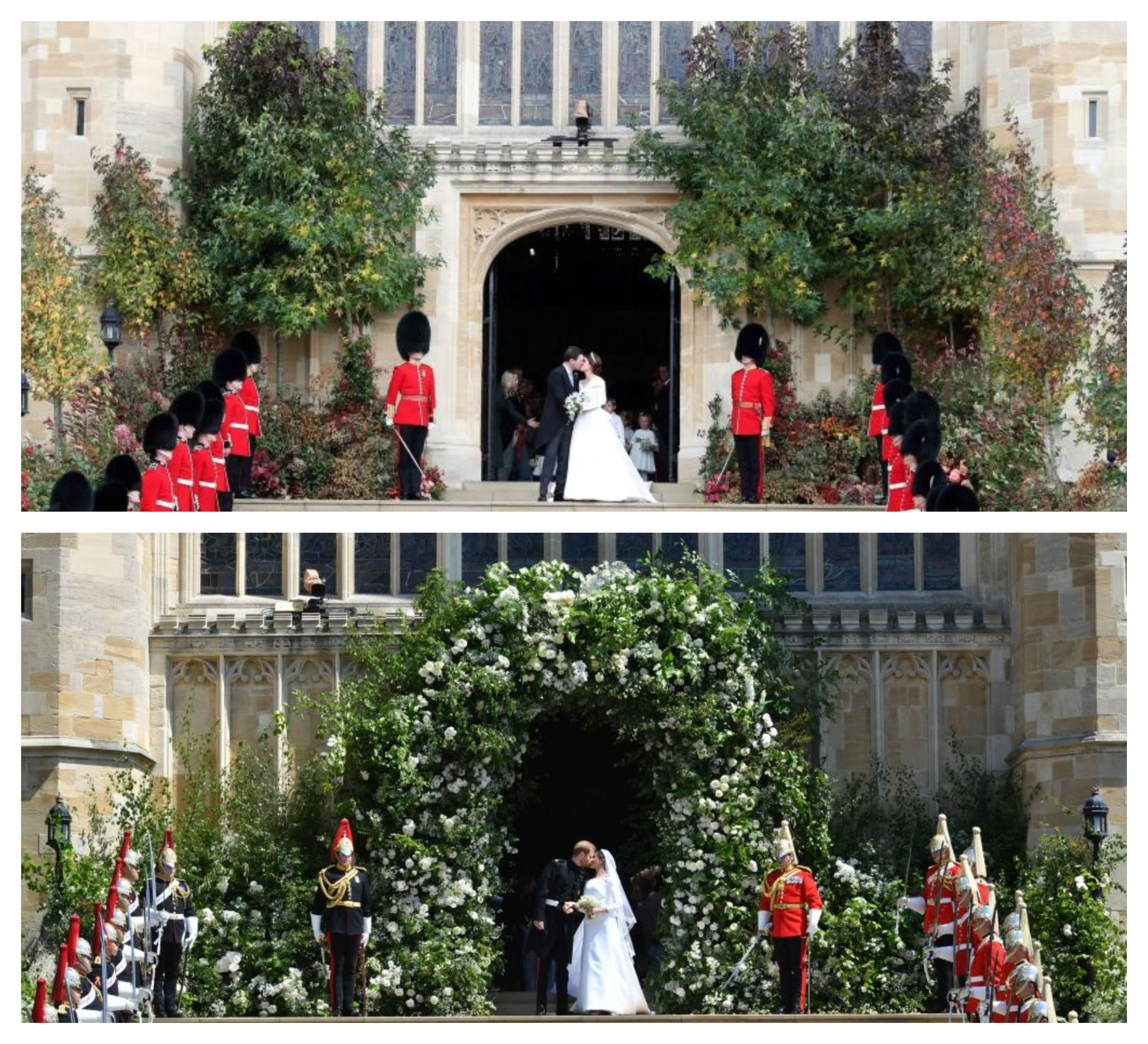 Royal Wedding Flowers How Princess Eugenie And Jack Brooksbank