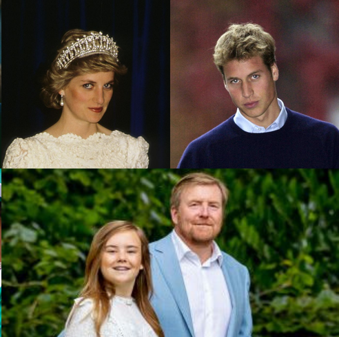 royal parents and kids look a like header