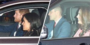 Harry, Meghan, William and Kate have gone for an early Christmas lunch together