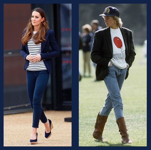 royals in jeans