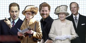 Royals, Prins Harry, Prins William, Queen Elizabeth, Prins Philip, Prinses Anne
