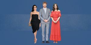 meghan markle prince harry kate middleton standing posture