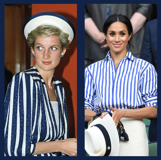 royals in stripes