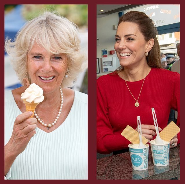 royals with ice cream