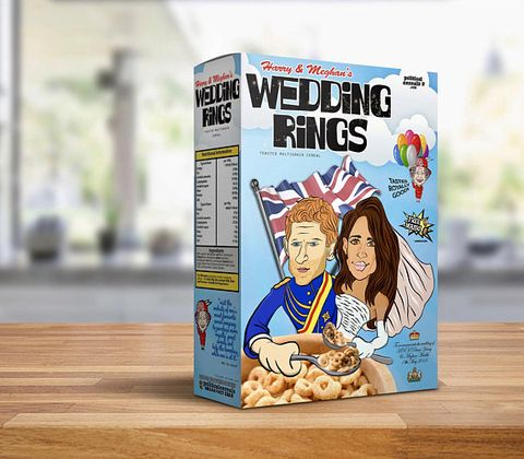royal wedding cereal