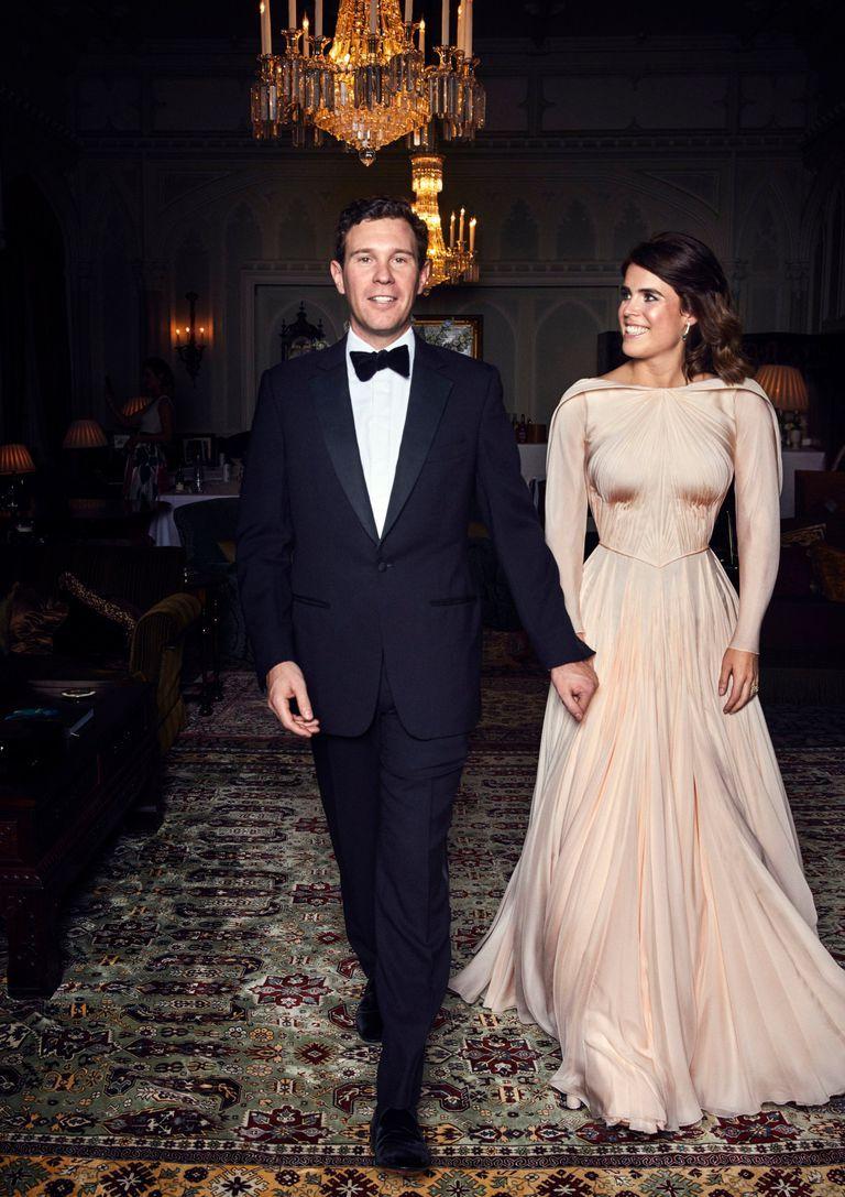 Tweede Huwelijk Trouwjurk.De Tweede Trouwjurk Van Prinses Eugenie Was Geinspireerd Op Grace Kelly