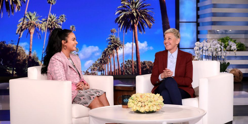 Demi Lovato Talks About Her Relapse and Drug Overdose on Ellen DeGeneres Show