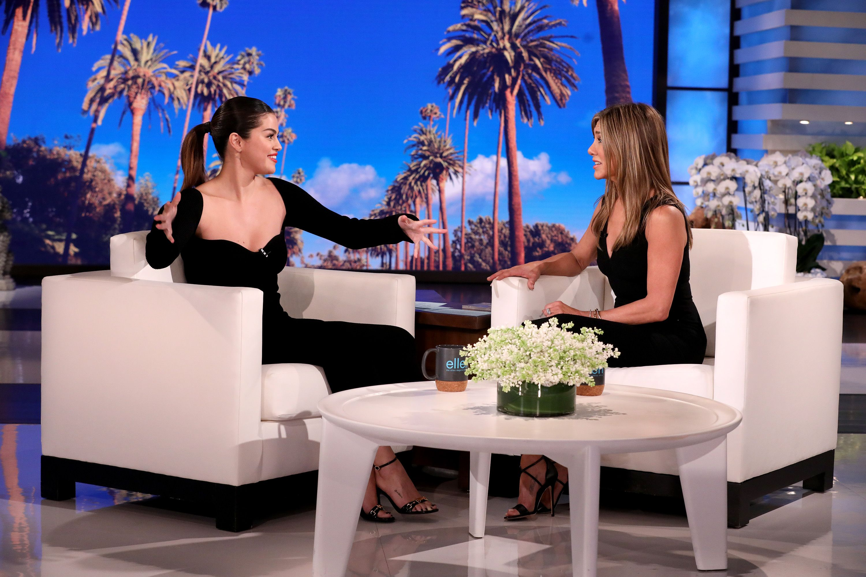 Selena Gomez and Jennifer Aniston's Friendship Started in a Bathroom