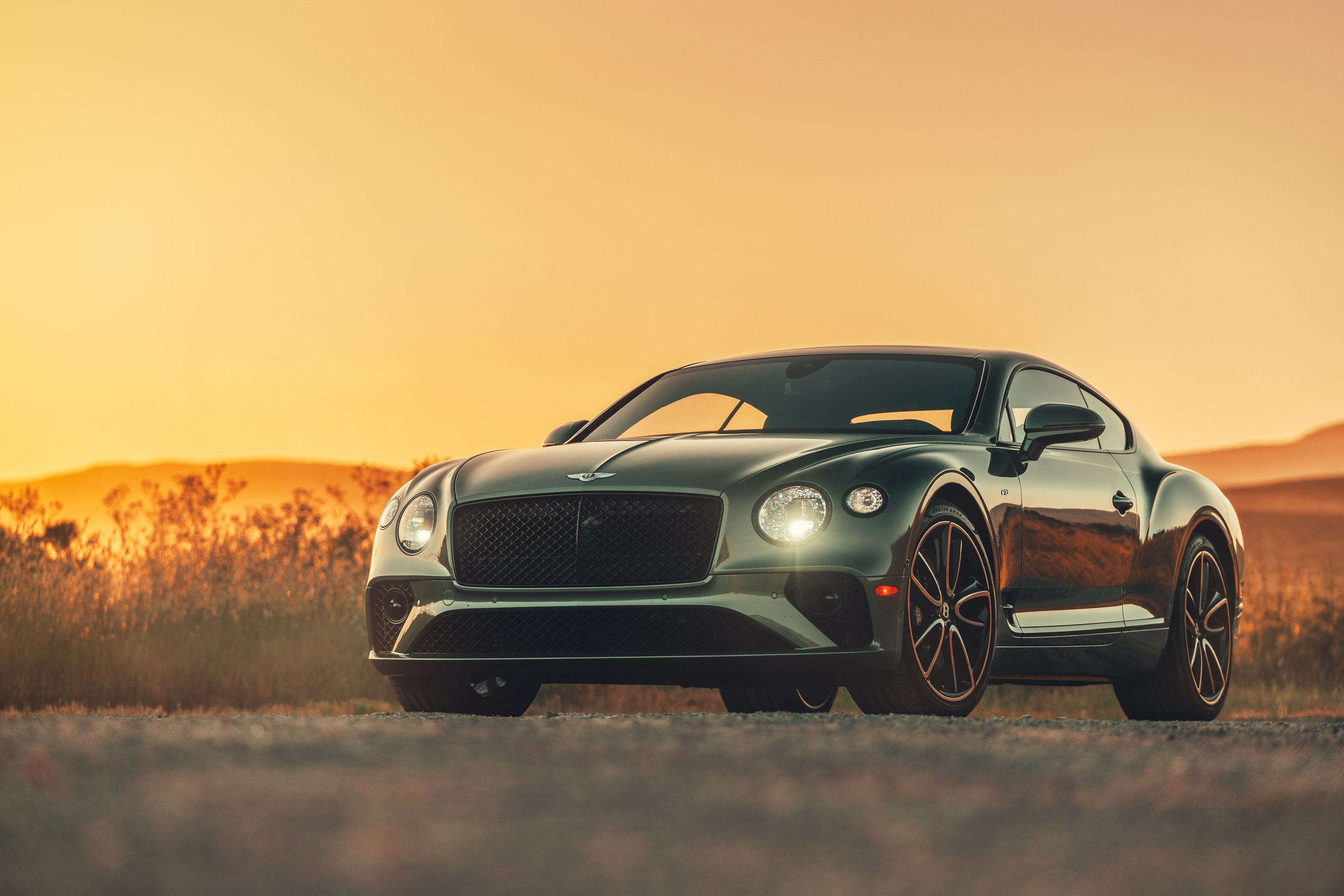 The 2020 Bentley Continental GT V8 Is a Different Sort of Driver's Car
