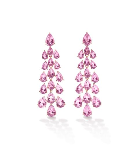 Earrings, Pink, Jewellery, Violet, Lilac, Fashion accessory, Lavender, Purple, Amethyst, Diamond,