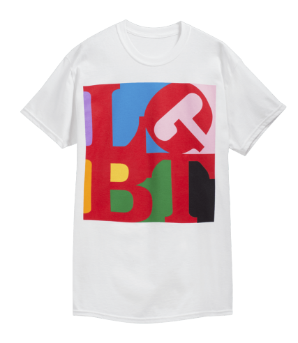 T-shirt, Clothing, White, Sleeve, Product, Active shirt, Red, Font, Text, Top,