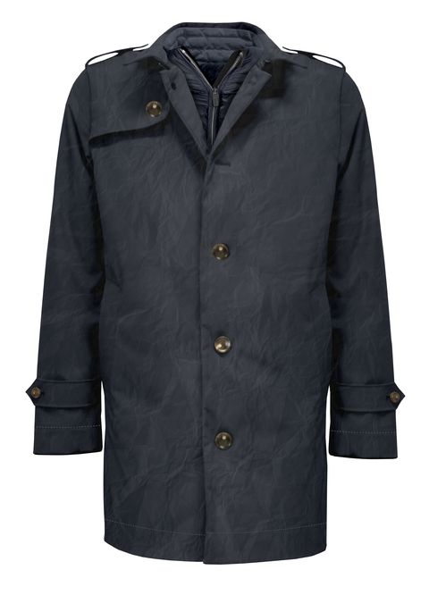Clothing, Outerwear, Jacket, Sleeve, Coat, Overcoat, Collar, Button, Top, Parka,