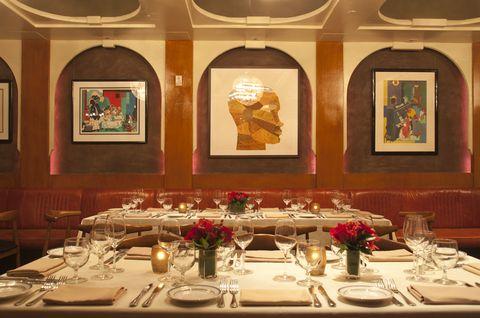 Restaurant, Function hall, Decoration, Room, Dining room, Interior design, Table, Banquet, Building, Centrepiece,