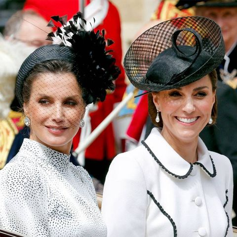 Twitter Thinks Kate Middleton Was Super Rude to Queen Letizia of Spain