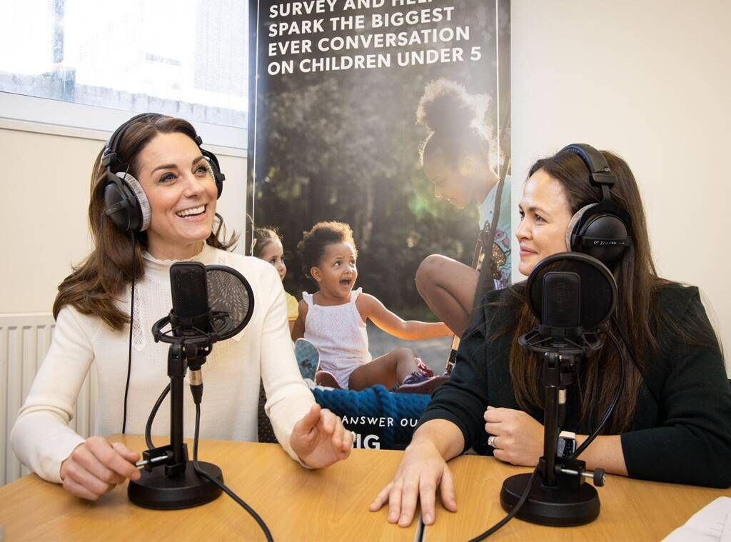 Kate Middleton Shares a Rare Glimpse Into Her Parenting Style in Her First-Ever Podcast Interview
