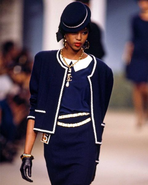 supermodels, first runway, last runway, modelling, career, transformation, debut, naomi campbell, chanel, 1987
