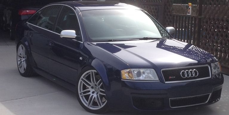 You Must Buy This SixSpeed Manual Swapped Audi RS - Audi rs6